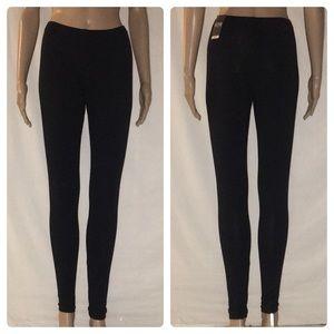 New Victoria's Secret VSX Black Leggings Small